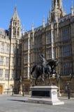 Staty av konungen Richard 1st Royaltyfri Bild