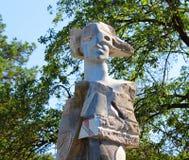 Staty av krighjältar Arkivfoto