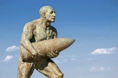 Staty av kroppsliga Seyit, Canakkale, Turkiet royaltyfri bild