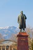 Staty av Lenin i Yalta royaltyfri foto