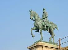 Staty av Leopold II royaltyfria bilder