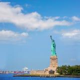 Staty av Liberty New York American Symbol USA Royaltyfri Fotografi