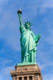Staty av Liberty New York American Symbol USA Royaltyfri Bild