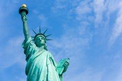 Staty av Liberty New York American Symbol USA Royaltyfri Foto
