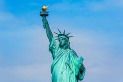 Staty av Liberty New York American Symbol USA Royaltyfria Bilder