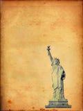 Staty av Liberty Paper Arkivfoto
