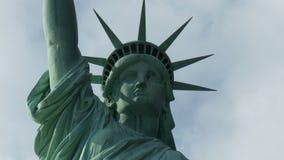 Staty av Liberty Time Lapse - gem 1 arkivfilmer