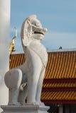 Staty av lionen royaltyfri bild