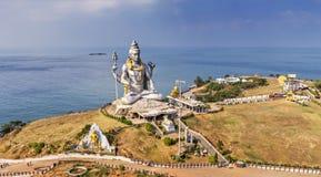 Staty av Lord Shiva Arkivfoton