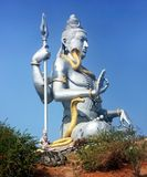 Staty av Lord Shiva, Murdeshwar, Karnataka, Indien Arkivbilder