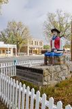 Staty av Lucien Maxwell i Cimarron som är ny - Mexiko Royaltyfri Bild