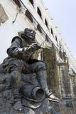 Staty av målaren Zurbaran Royaltyfri Foto