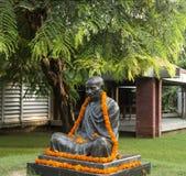 Staty av Mahatma Gandhi Royaltyfri Fotografi