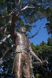 Staty av Major General Lachlan Macquarie, PR-band den femte regulatorn av New South Wales i Hyde Park royaltyfria bilder