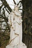 Staty av Marie de Medici i Jardinen du Luxembourg, Paris, Frankrike royaltyfri bild