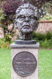 Staty av Mark Oliphant, Adelaide Australia Royaltyfria Bilder