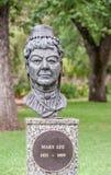 Staty av Mary Lee, Adelaide Australia Fotografering för Bildbyråer