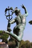 Staty av Mercury fotografering för bildbyråer
