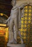 Staty av Michelangelo's David i Caesar Palas, Las Vegas, USA Royaltyfri Foto