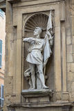 Staty av Michele di Lando i Florence, Italien Royaltyfri Fotografi