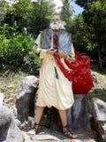 Staty av Moses på Kamay ni Hesus Royaltyfri Fotografi