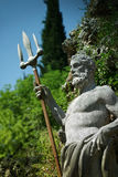Staty av Neptun Arkivfoton