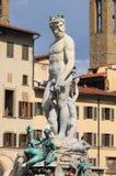 Staty av Neptune Royaltyfri Fotografi