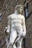 Staty av Neptune Arkivbild