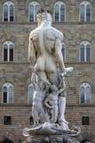 Staty av Neptune Royaltyfria Foton