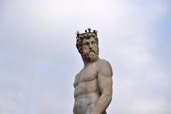 Staty av Neptune Royaltyfri Foto