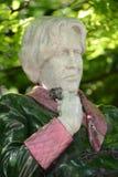 Staty av Oscar Wilde Royaltyfri Fotografi
