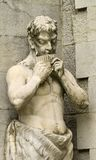 Staty av pannan som tas på pakren av den Massandra slotten, Yalta, Crim Royaltyfria Bilder