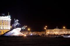 Staty av Peter det stort arkivbild