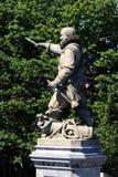 Staty av Piet Heyn, Delfshaven, Nederländerna Arkivfoton