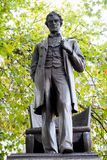 Staty av presidenten Abraham Lincoln Royaltyfria Foton