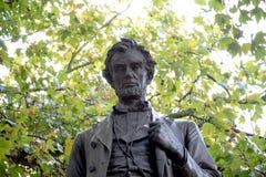 Staty av presidenten Abraham Lincoln Arkivfoto