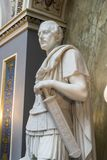 Staty av prinsen Albert som en romersk ö för centurionOsborne hus av wighten arkivbild