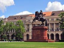 Staty av prinsen Ferenc Rakoczi Royaltyfri Fotografi