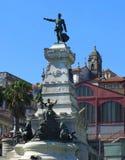 Staty av prinsen Henry The Navigator Royaltyfri Bild