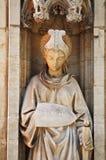 Staty av Prudentia Fotografering för Bildbyråer