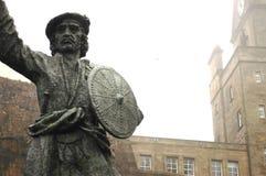 Staty av Rob Roy MacGregor, Stirling Arkivfoton