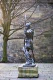 Staty av Robin Hood Royaltyfria Foton