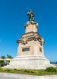 Staty av Roger De Lauria Arkivfoto