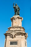 Staty av Roger De Lauria Royaltyfria Bilder