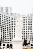 Staty av romaren Arkivfoto