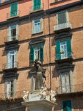 Staty av San Gaetano i Naples Campania Italien Royaltyfri Bild
