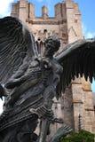 Staty av Sanktt Michael Arkivfoton