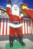 Staty av Santa Claus förutom Santa Claus Land Royaltyfri Fotografi