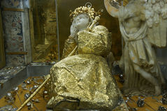 Staty av Santa Rosalia Arkivfoton
