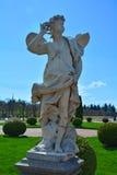 Staty av sefir i Peterhof, St Petersburg, Ryssland Royaltyfria Foton